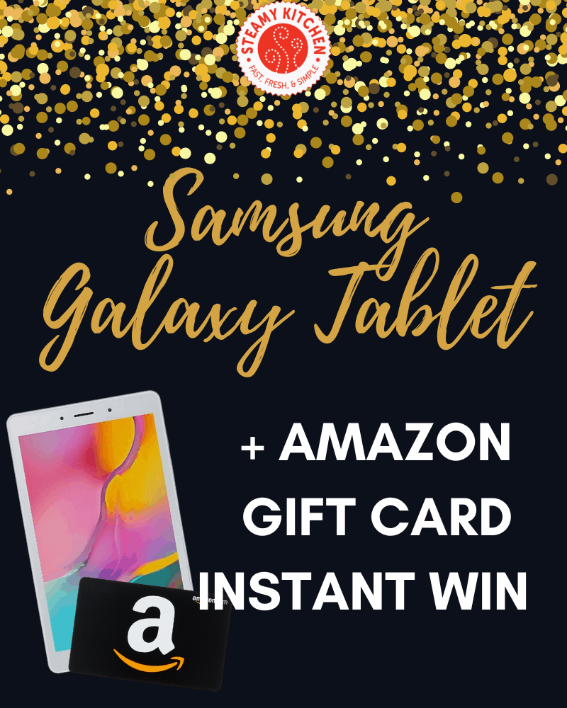 Samsung Galaxy Tablet Instant WinEnds in 47 days.