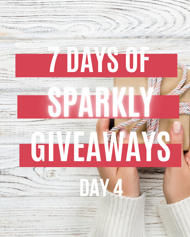 7 Days Of Sparkly Giveaways Day 4Ends in 12 days.