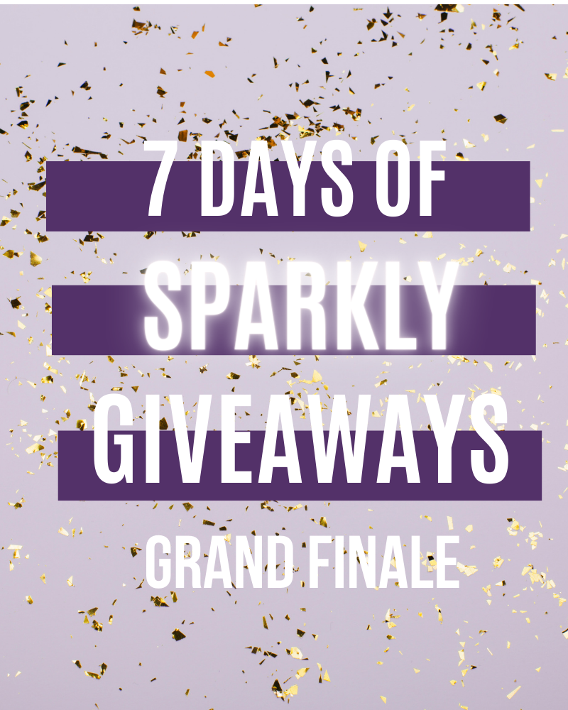 7 Days Of Sparkly Giveaways Day 7Ends in 20 days.