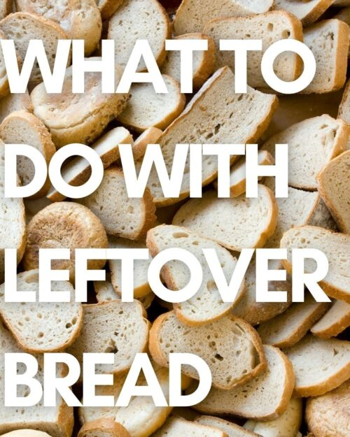 main image of leftover bread blog post