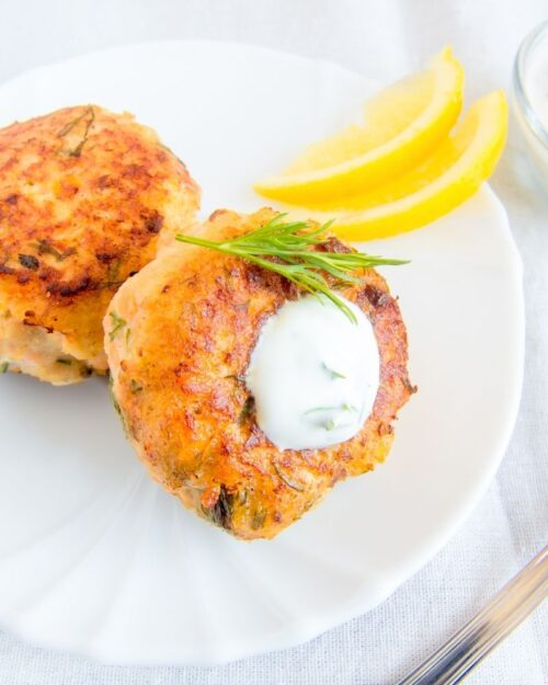 Make Leftover Seafood into Fish Cakes