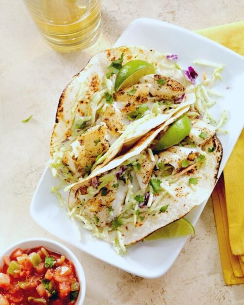 Make Leftover Seafood Into Fish Tacos