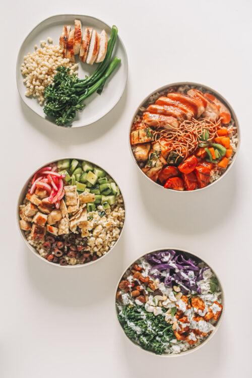 Make Buddha Bowls with Leftover Seafood