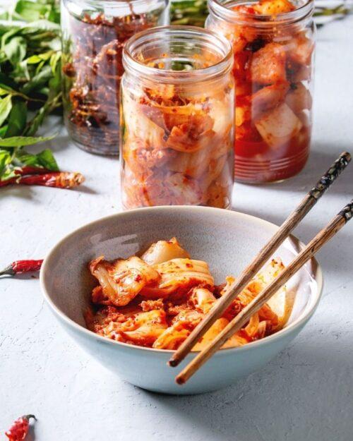 Leftover Cabbage Kimchi