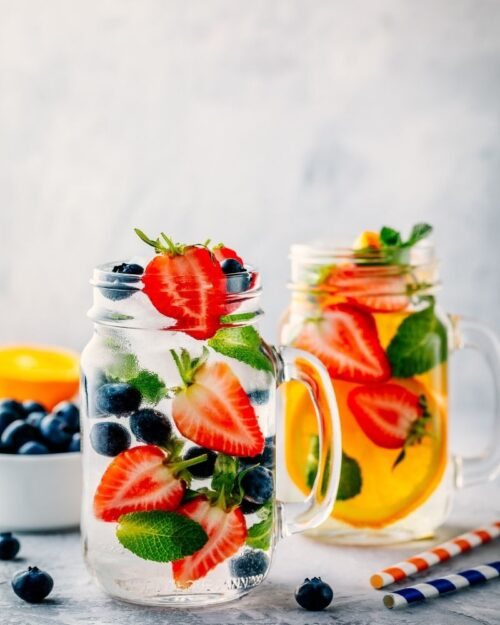 Make Infused Water with Extra Berries