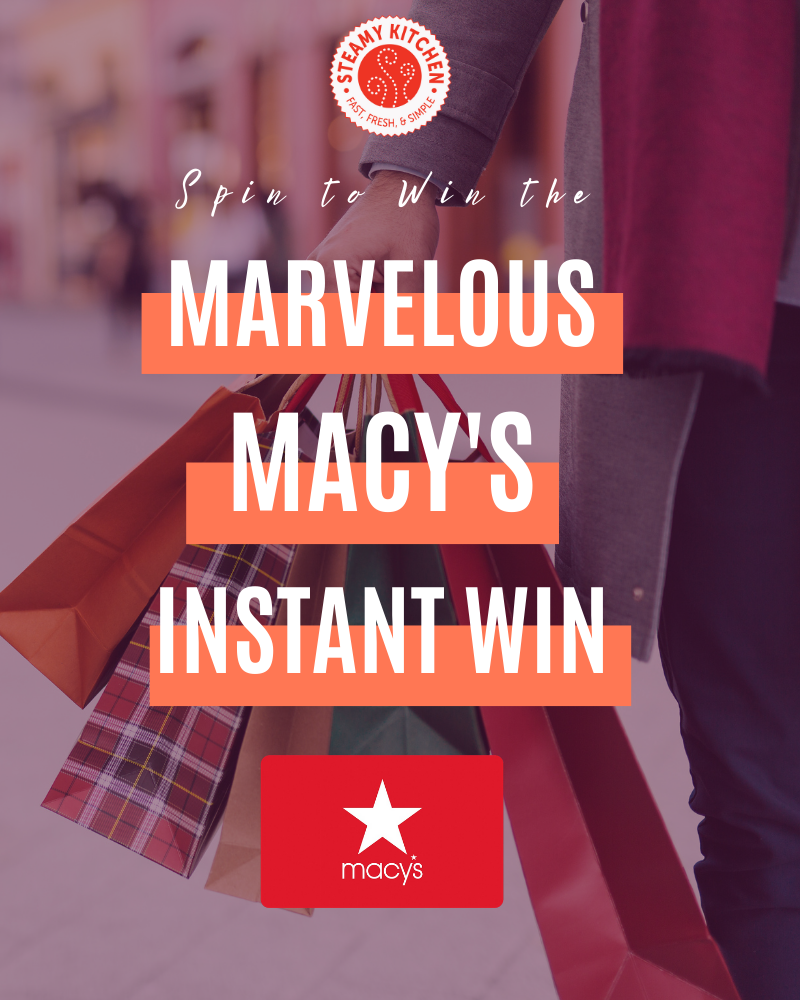 Marvelous Macy's Instant WinEnds in 83 days.