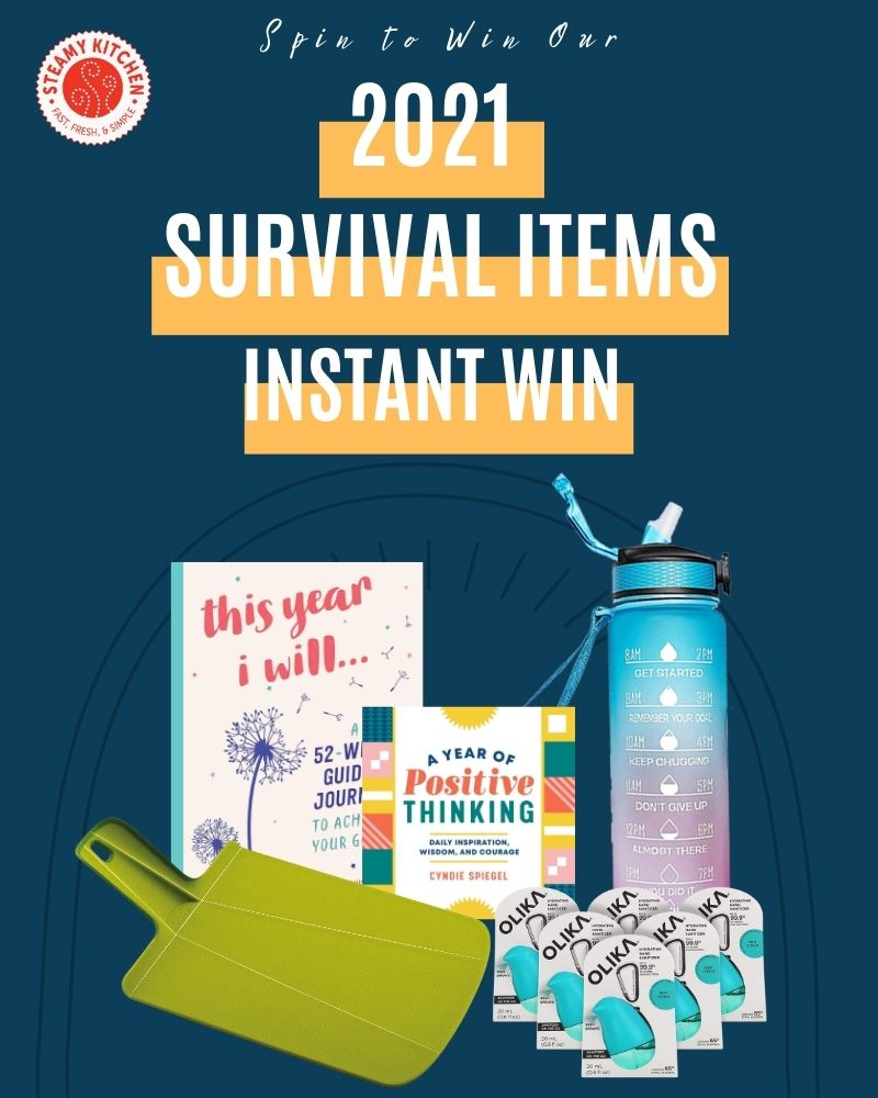 2021 Survival Items Instant Win GameEnds in 85 days.