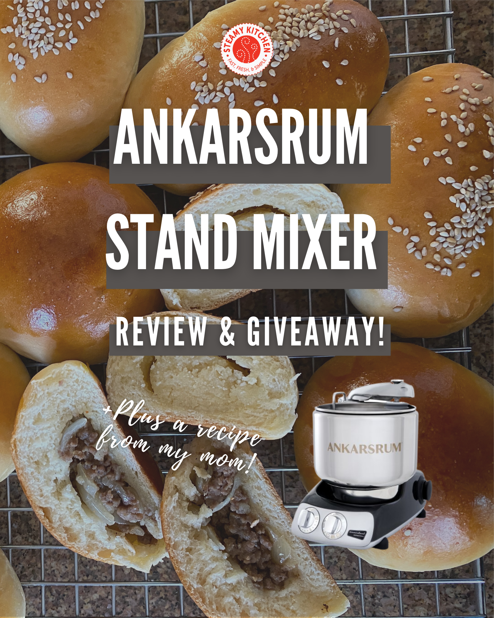 Ankarsrum Assistent Original Stand Mixer Review and GiveawayEnds in 90 days.