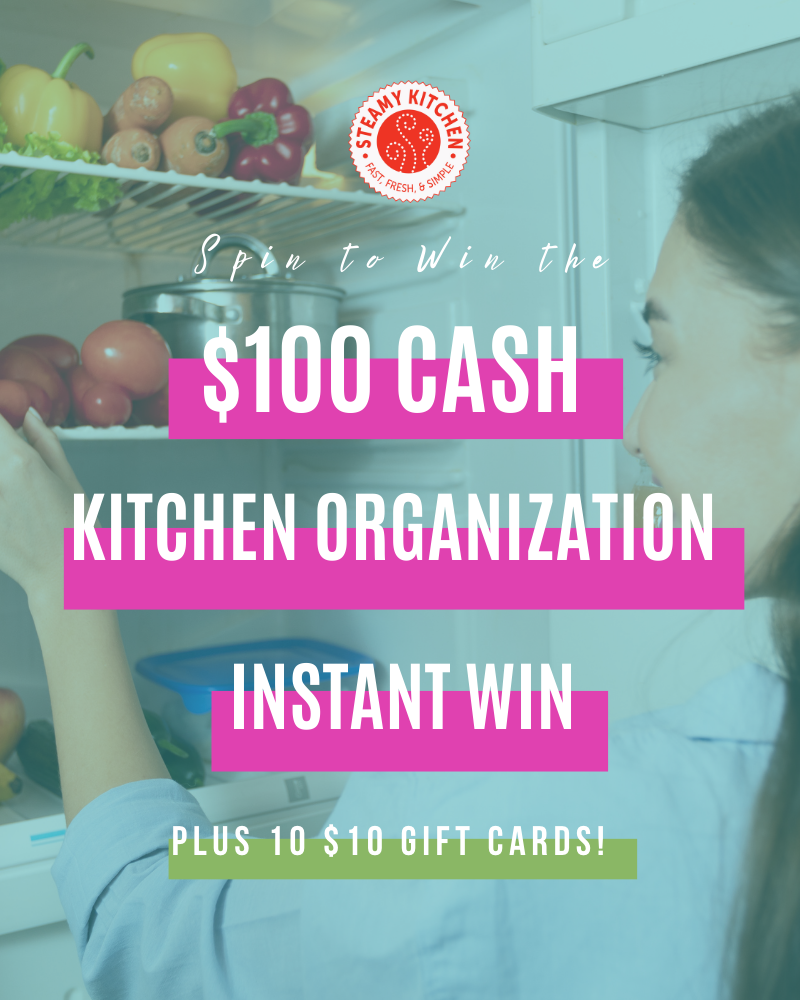 $100 Kitchen Organization Instant Win GameEnds in 50 days.