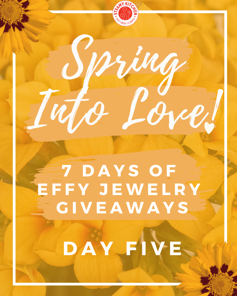 Spring Into Love Day 5 GiveawayEnds Today!