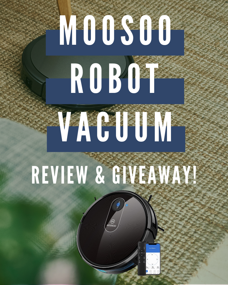 MooSoo Robot Vacuum Review and GiveawayEnds in 60 days.