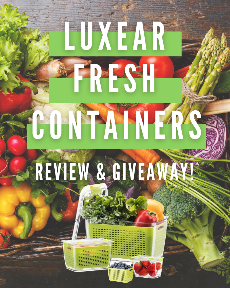 Luxear Fresh Container Review and GiveawayEnds in 72 days.