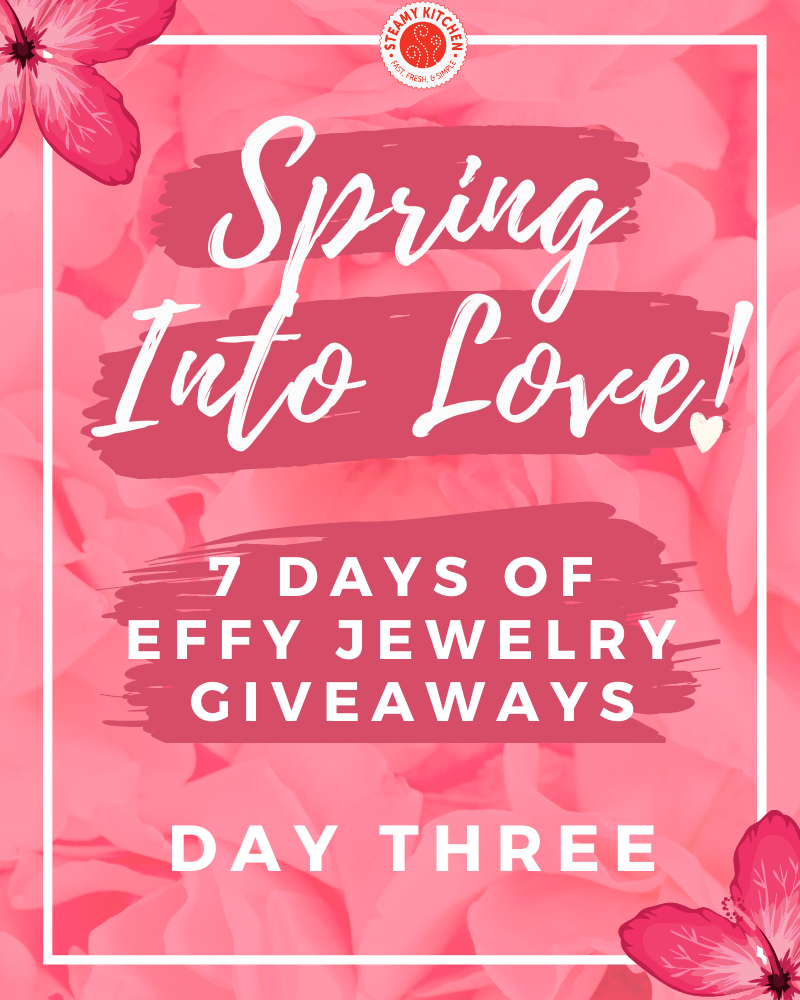 Spring Into Love Day 3 GiveawayEnds in 67 days.
