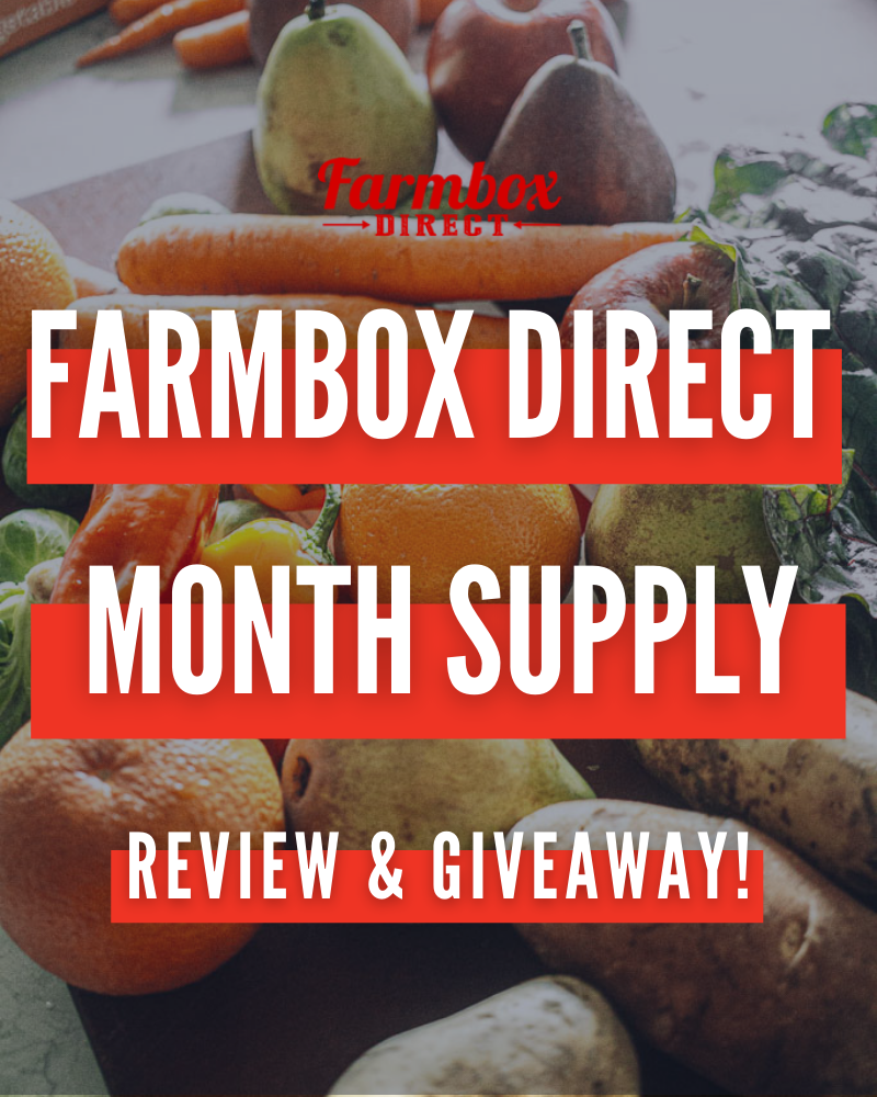 Farmbox Direct Review and GiveawayEnds in 40 days.