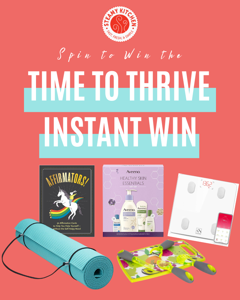 Time to Thrive Instant Win GameEnds in 39 days.
