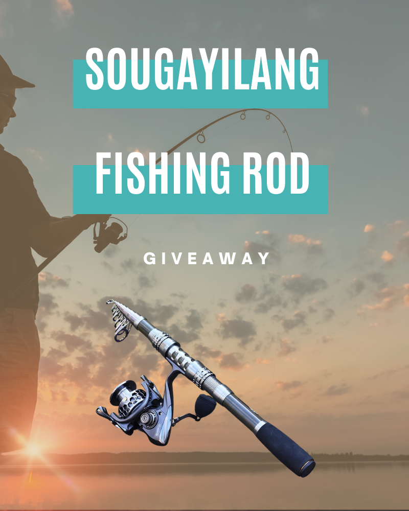 Fishing Rod Set GiveawayEnds in 45 days.