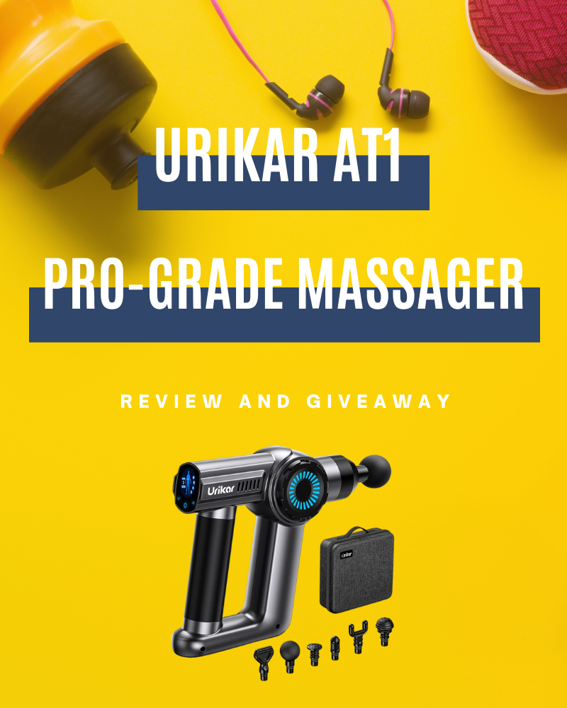 Urikar AT1 Pro-Grade Massager Review and GiveawayEnds in 62 days.