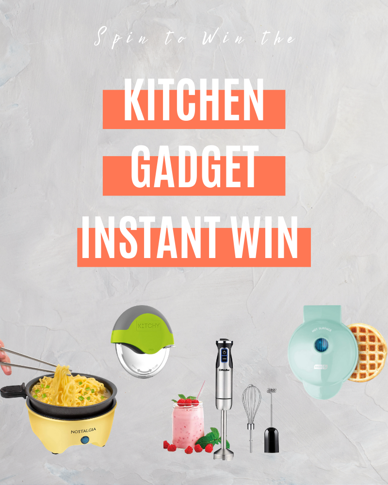 Kitchen Gadget Instant WinEnds in 30 days.