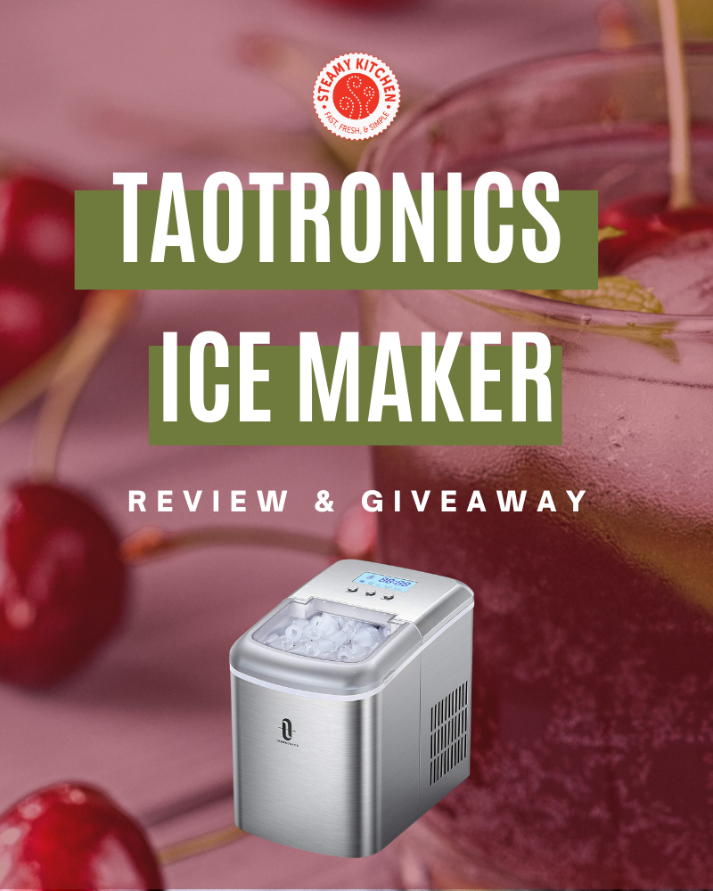 TaoTronics Ice Maker Machine Review and GiveawayEnds in 55 days.