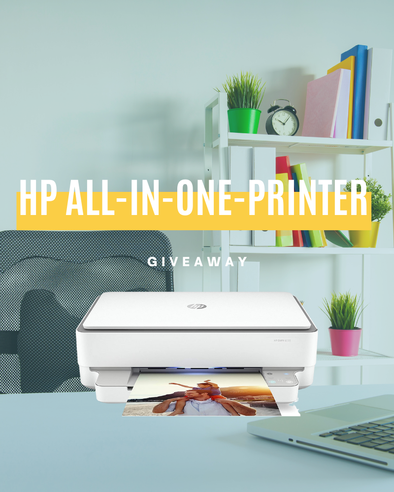 HP All-In-One-Printer GiveawayEnds in 69 days.