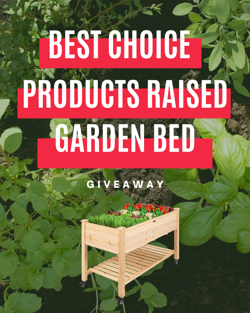 Best Choice Products Raised Garden Bed GiveawayEnds in 69 days.