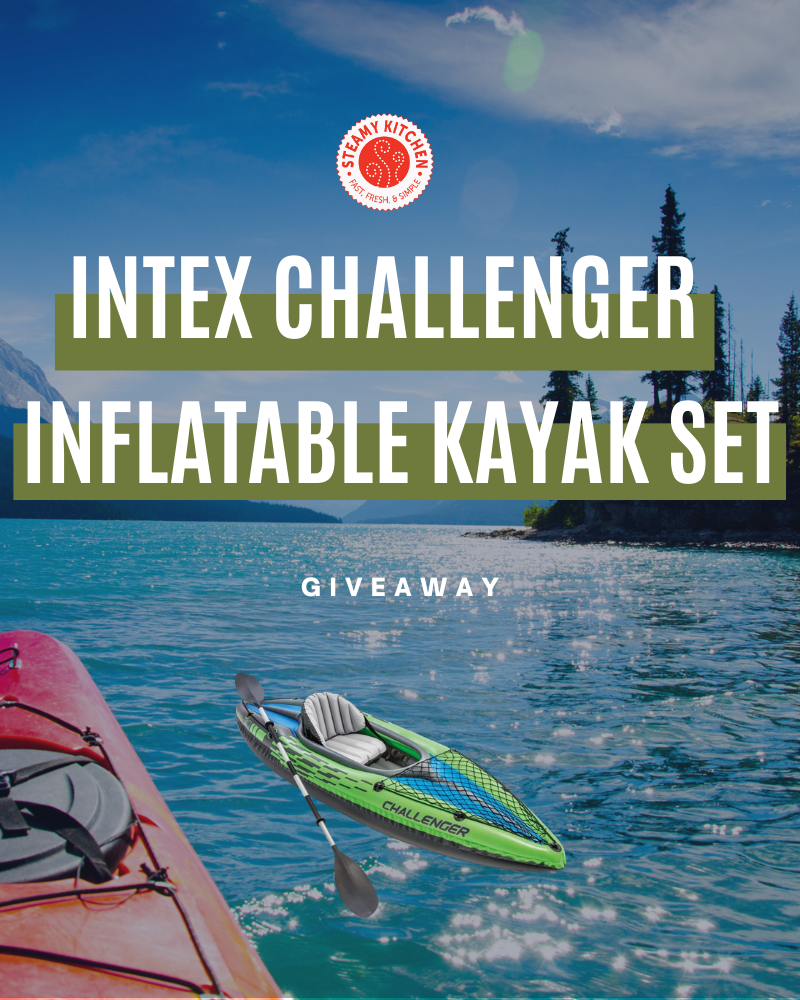 Intex Challenger Inflatable Kayak Set GiveawayEnds in 85 days.