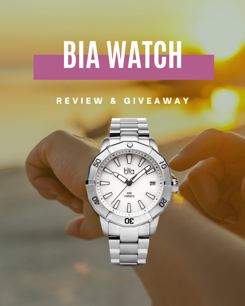 Bia Watch Review and GiveawayEnds in 90 days.