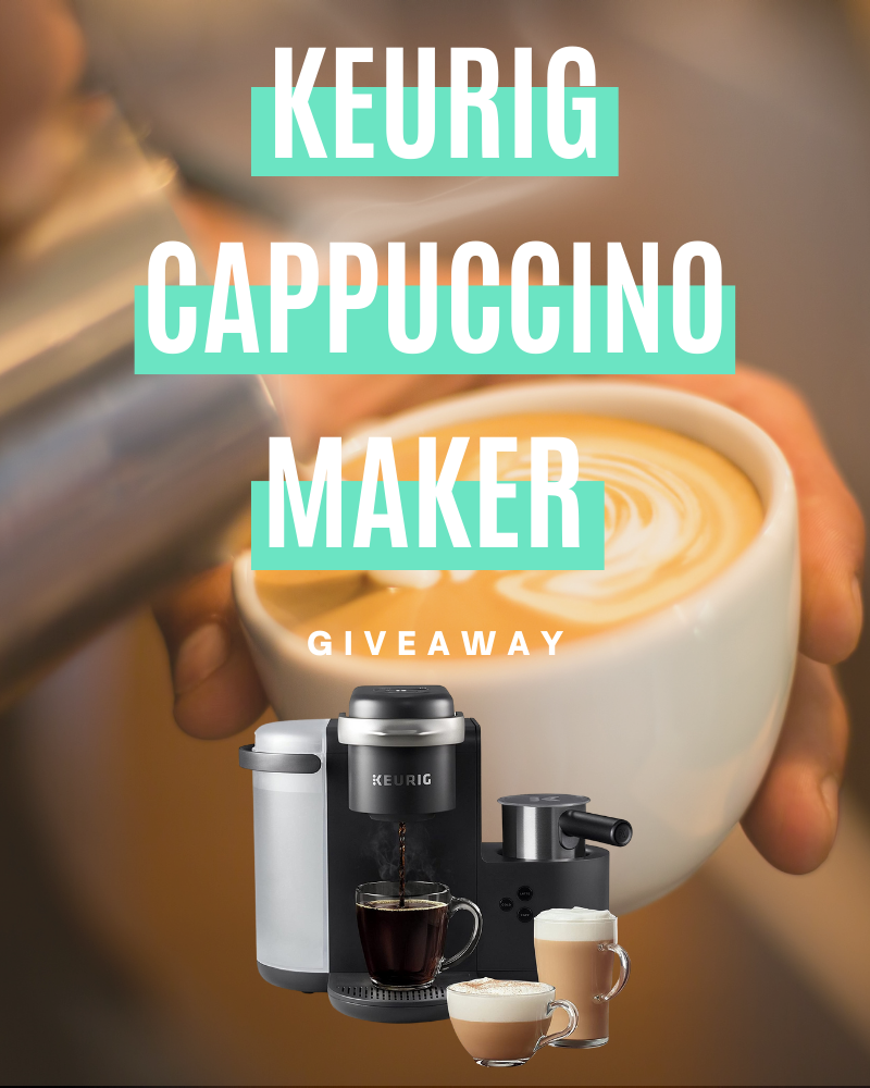 Keurig Cappuccino Maker GiveawayEnds in 69 days.