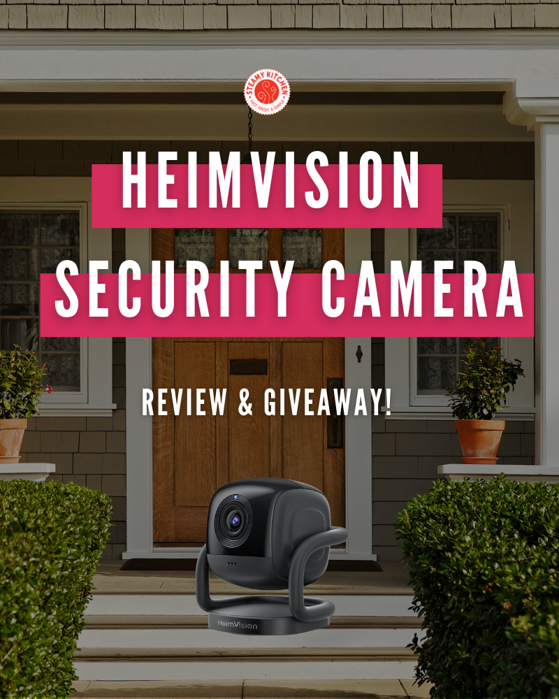 HeimVision Mate A1 Security Camera Review and GiveawayEnds in 66 days.