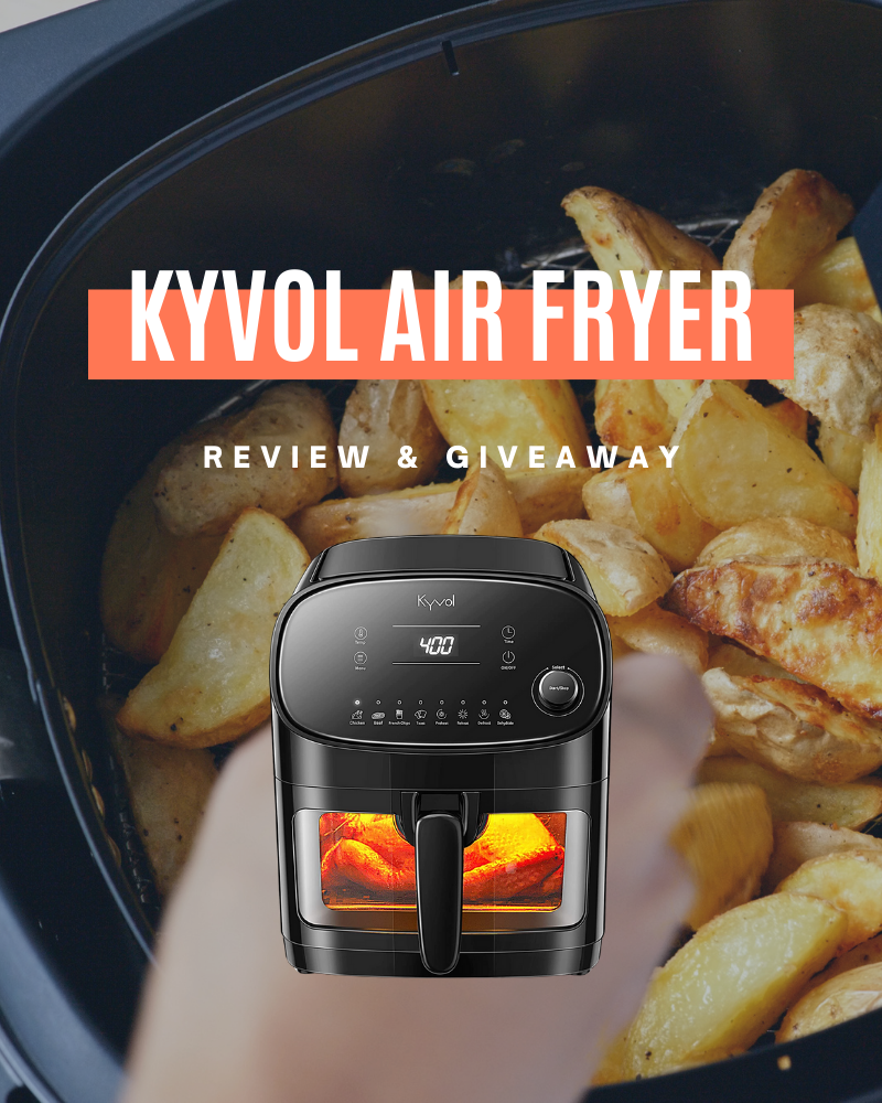 Kyvol Epichef AF60 Air Fryer Review & GiveawayEnds in 80 days.