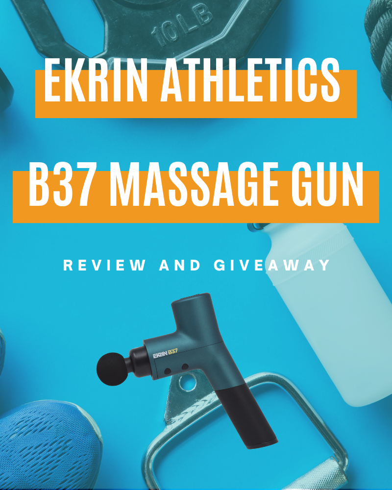 Ekrin Athletics B37 Massage Gun Review and GiveawayEnds in 76 days.