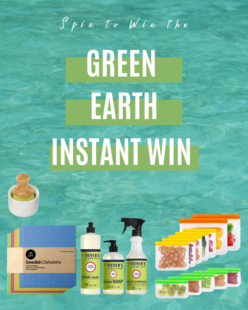 Green Earth Instant WinEnds in 69 days.