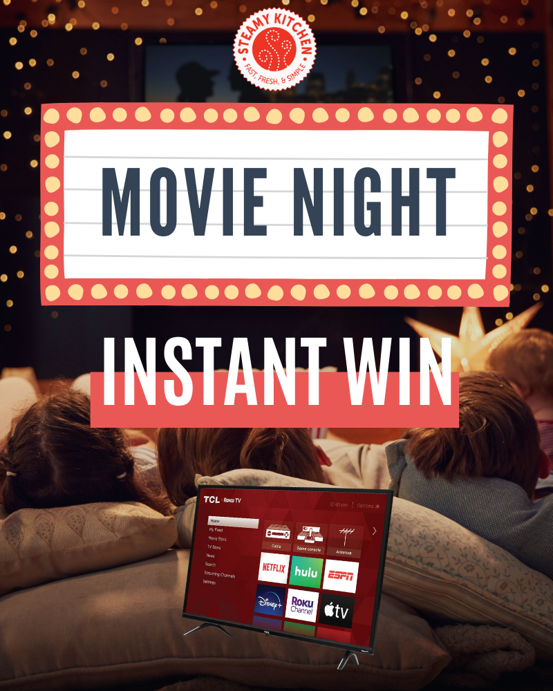 Movie Night and Smart TV Instant WinEnds in 89 days.