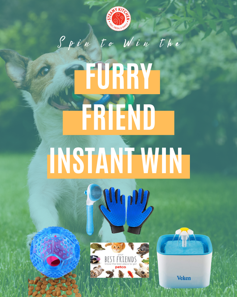Furry Friend Instant WinEnds in 45 days.