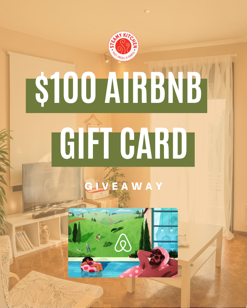 $100 Airbnb Gift Card GiveawayEnds in 20 days.