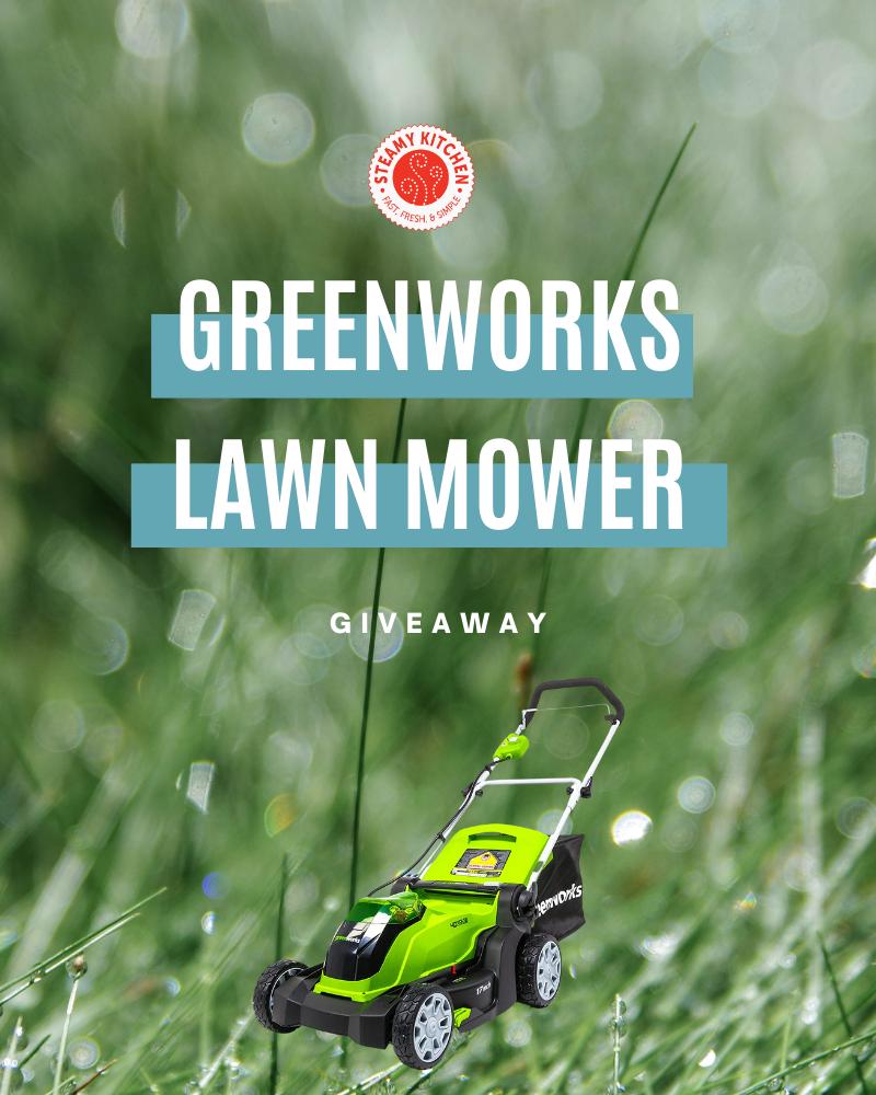 Greenworks Lawn Mower GiveawayEnds in 34 days.