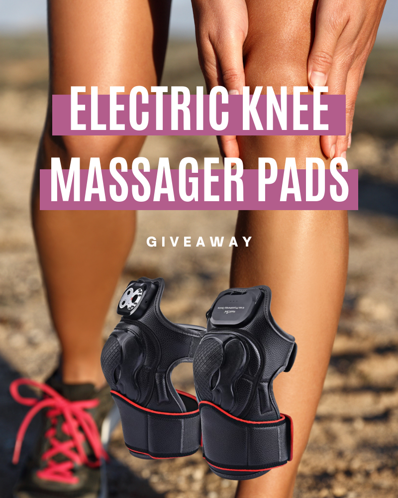 Electric Knee Massager GiveawayEnds in 30 days.