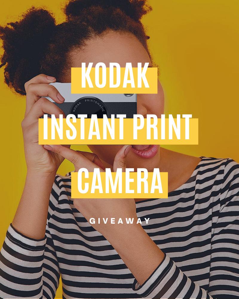 Kodak Instant Print Camera Giveaway