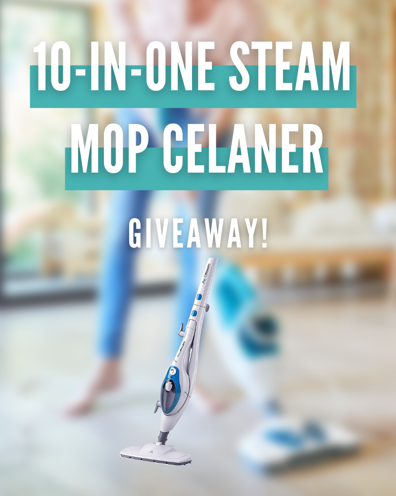 10-in-1 Steam Mop Cleaner GiveawayEnds in 13 days.
