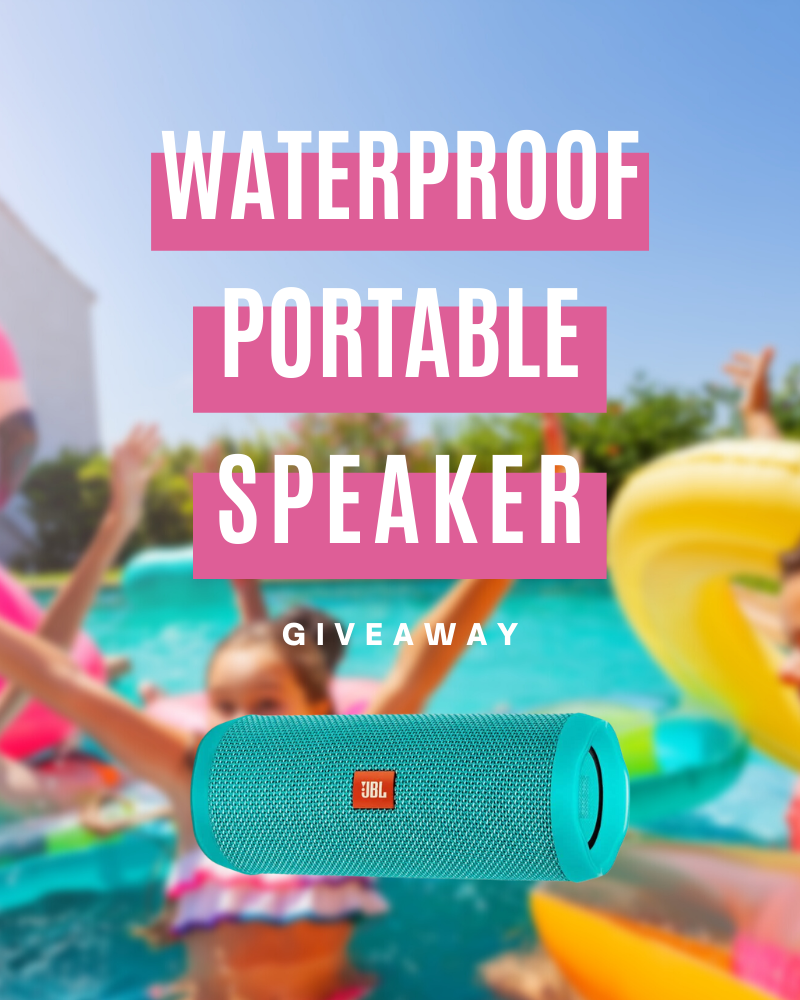 Waterproof Portable Speaker GiveawayEnds in 83 days.