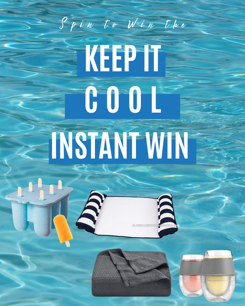 Keep It Cool Instant Win GameEnds in 17 days.