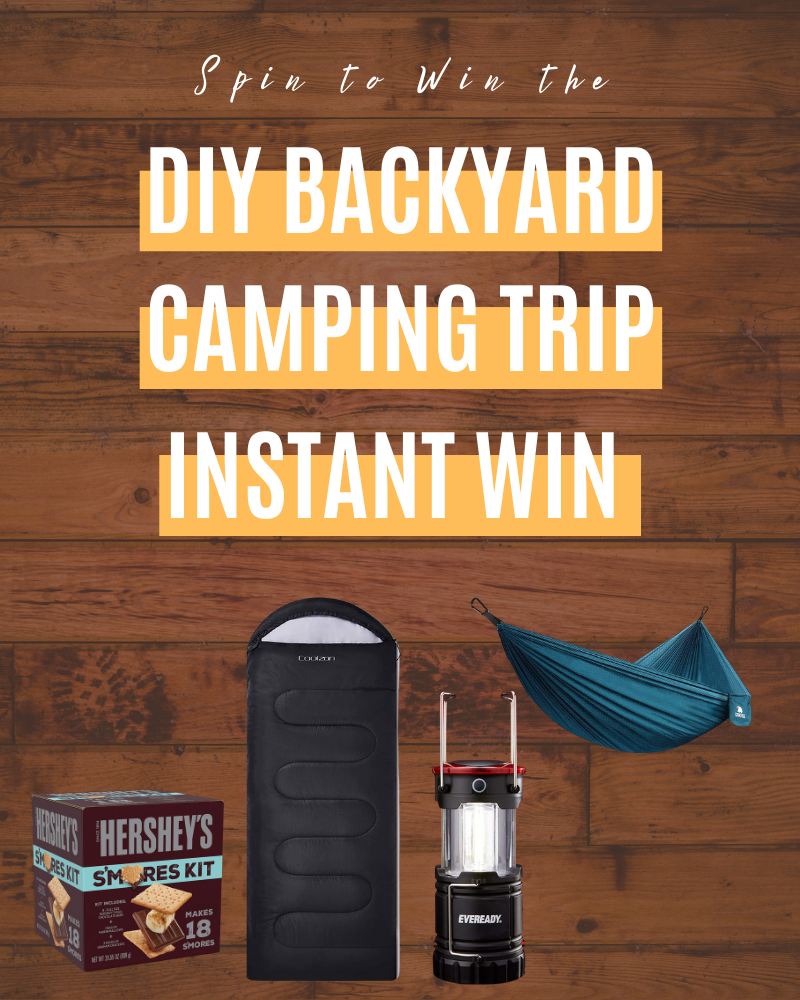 DIY Backyard Camping Trip Instant WinEnds in 83 days.