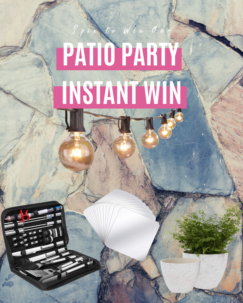 Patio Party Instant Win GameEnds in 31 days.