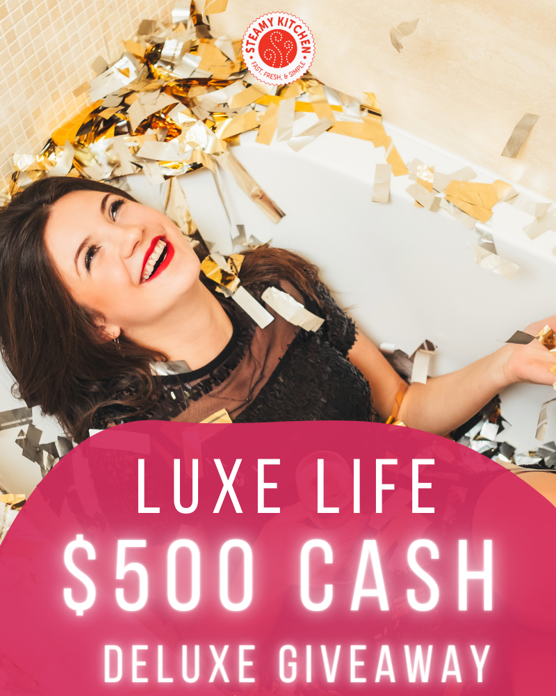 Luxe Life $500 Cash Giveaway
