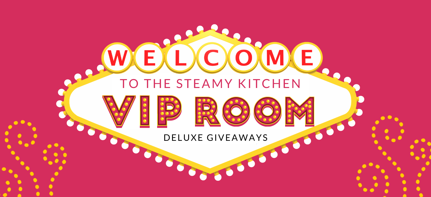 Welcome to the VIP Giveaway Room