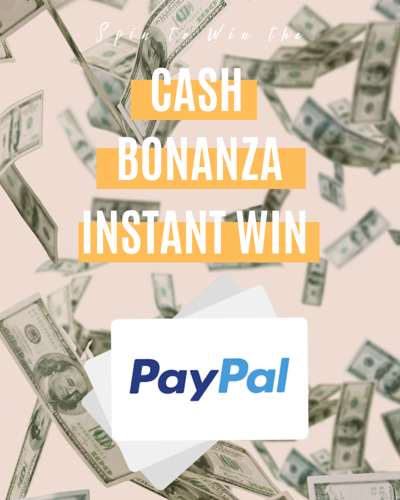 Cash Bonanza PayPal Instant WinEnds in 37 days.