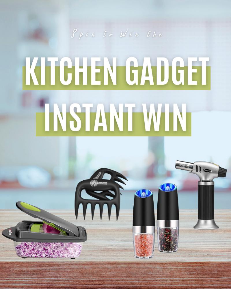 Kitchen Gadget Instant Win GameEnds in 59 days.