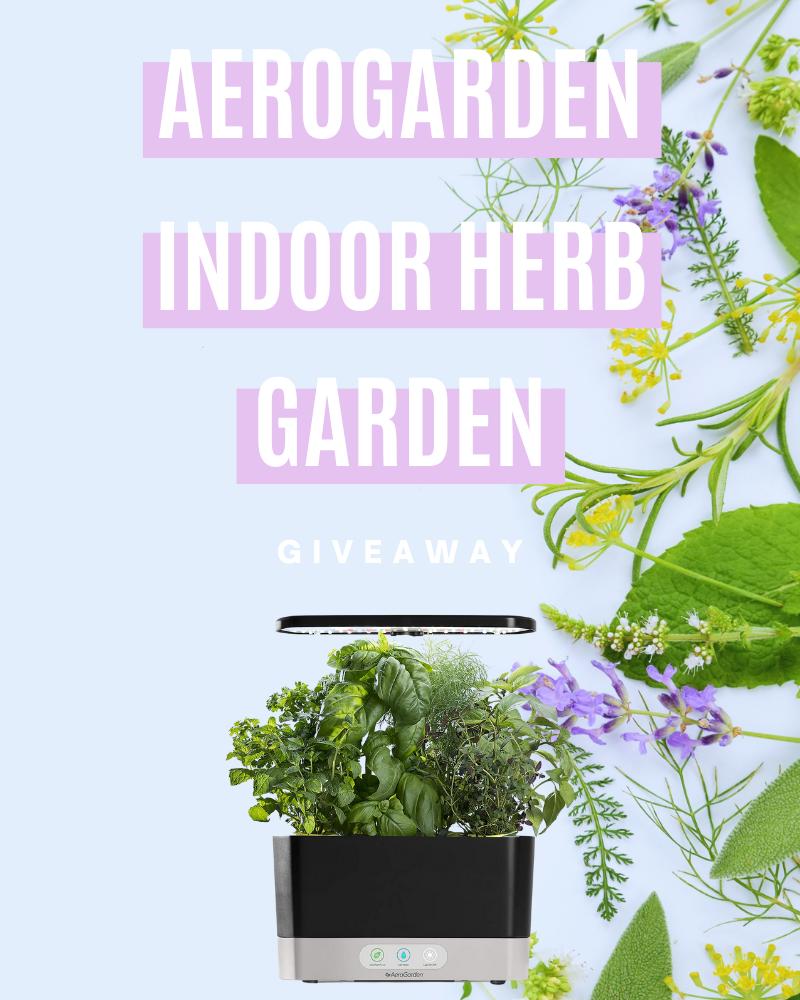 AeroGarden Indoor Herb Garden GiveawayEnds in 55 days.