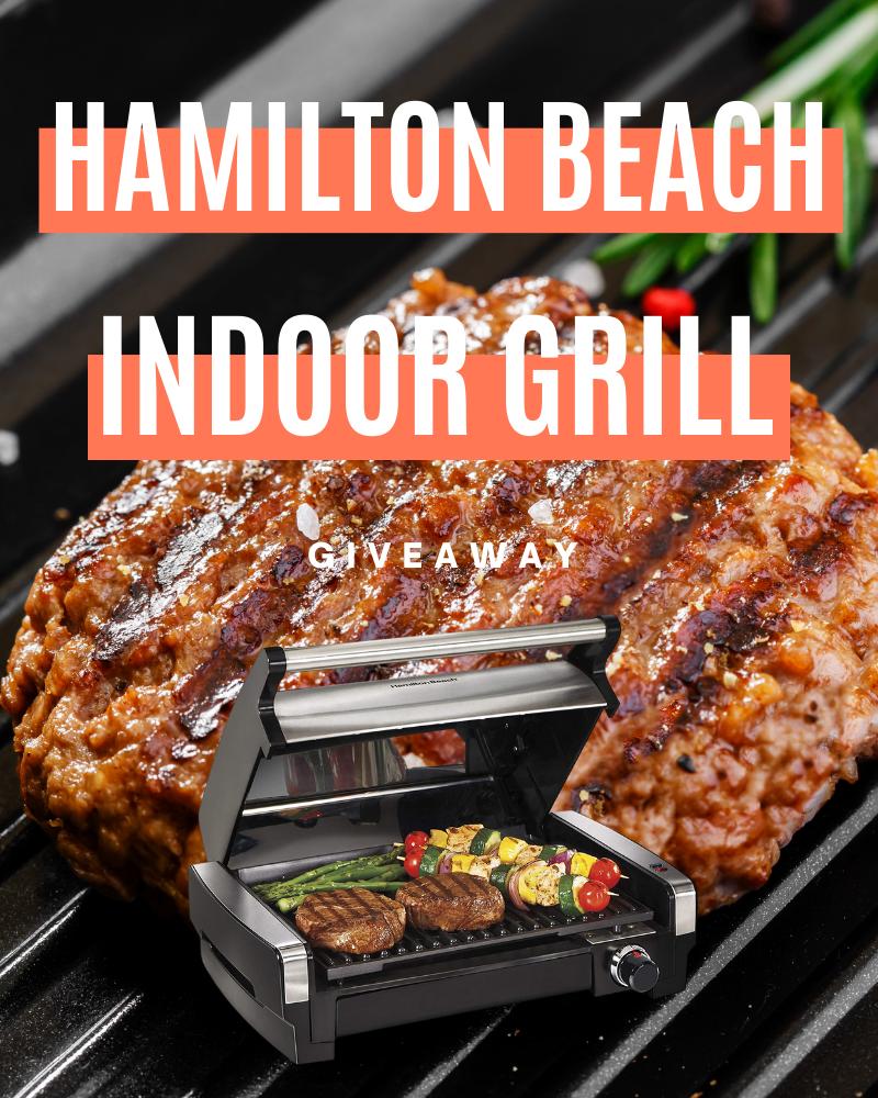 Hamilton Beach Indoor Grill GiveawayEnds in 61 days.