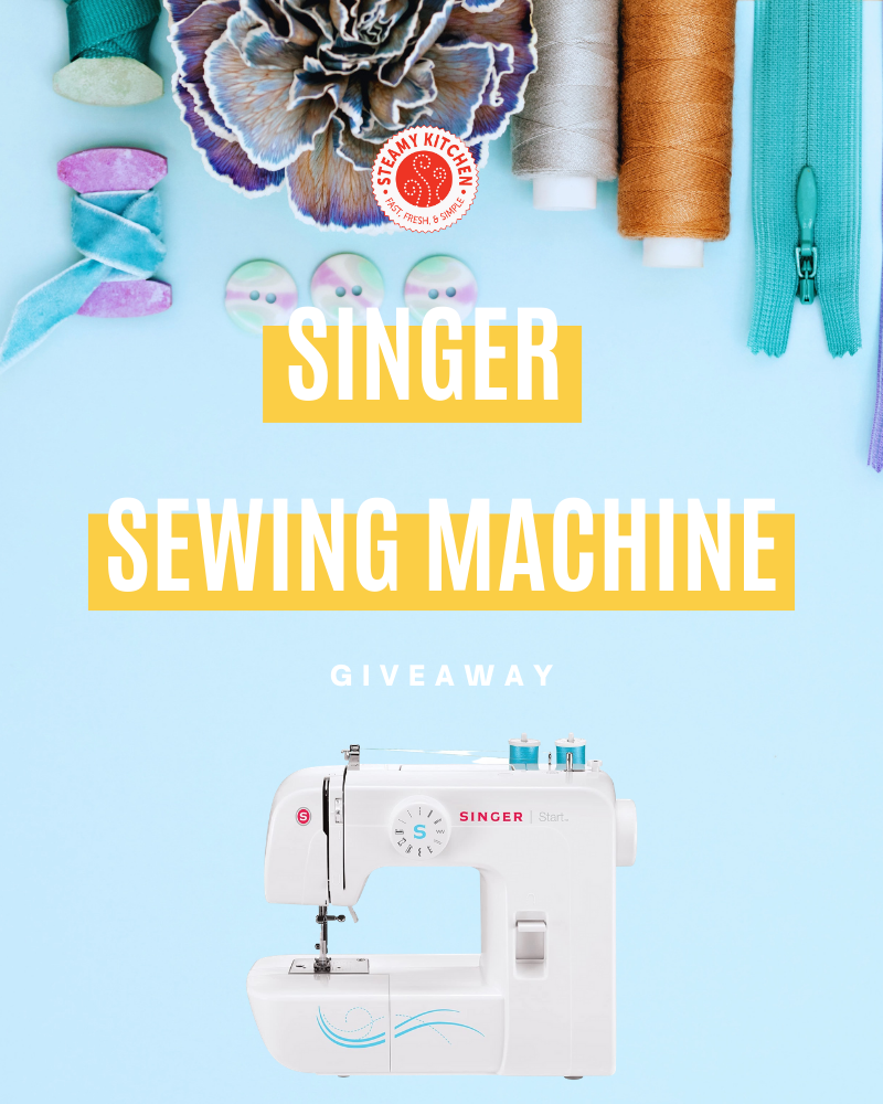 Singer Sewing Machine GiveawayEnds in 41 days.